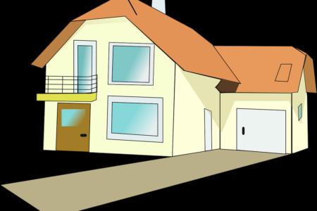 Grafik eines Hauses