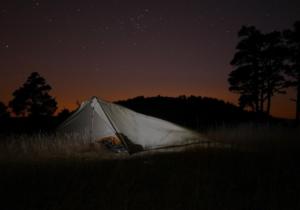 Übernachtung im Freien